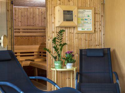 Duna Hotel Paks, Sauna