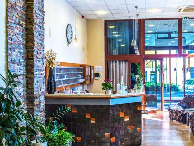 Duna Hotel Paks, Empfangsbereich