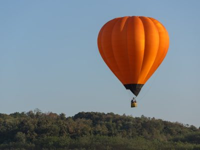Hőlégballon Paks